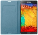 Samsung Flip Wallet Galaxy Note 3 Turkusowy